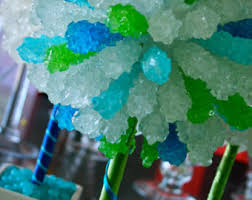 Candy Topiary Centerpieces - rock candy centerpiece topiary tree candy buffet decor candy