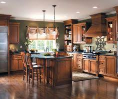 Kitchen Design Cherry Cabinets by Kitchen With Cherry Cabinets And Hickory Floors Kitchen Ideas