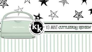 cuttlebug die cutting machine review u0026 tutorial youtube