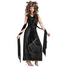 Athena Halloween Costume Medusa Costume Greek Goddess Halloween Fancy Velvet Dress Ebay