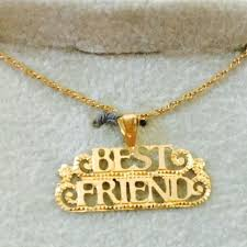 best friend gold necklace images Best friend necklace fashion jewelry gold plated poshmark jpeg