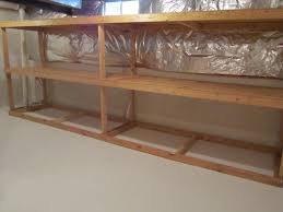 Wood Storage Shelves Plans by The Way To Build Basement Storage Shelves Home Decorations