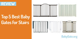 Child Gates For Stairs Top 5 Best Baby Gates For Stairs In 2017 Best Baby Gate