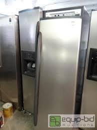 Kitchen Appliance Auction - kenmore elite side by side refrigerator dtkc upstairs premiere