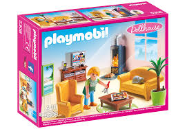 Living Rooms With Fireplaces by Living Room With Fireplace 5308 Playmobil Usa