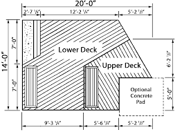 bissinger two level spa deck plan 002d 3019 house plans and more