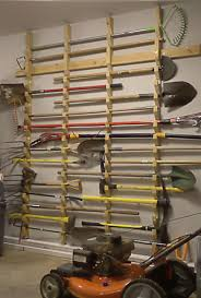 how to hang tools in shed garden tool rack 4 steps with pictures