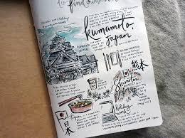 travel diary images Travel diaries kyushu japan on behance JPG