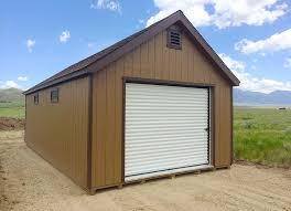 how wide is a two car garage prefab garages montana shed center