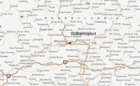 map of williamsport pa williamsport pennsylvania location guide