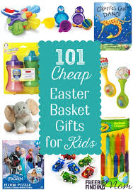 cheap easter baskets and cheap easter gifts 101 easter basket ideas for kids