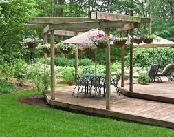 Small Backyard Deck Ideas by Backyard Patio Deck Ideas With Backyard Ideas Simple Small