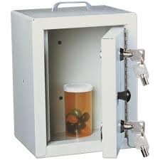 narcotic cabinet for pharmacy harloff 2810 small narcotics cabinet single door double lock