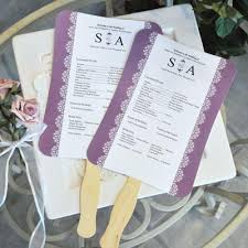 wedding program fan templates free free wedding program sles wedding program templates free