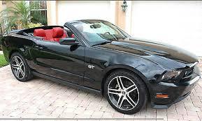 2010 Mustang Gt Black Ebay Ford Mustang Premium 2010 Mustang Gt Premium Convertible