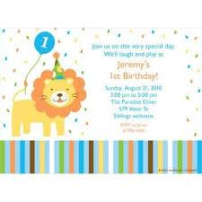baby animals 1st birthday boy personalized invitation customized