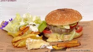cuisiner un hamburger hamburger à la française recette par nadji