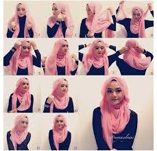 tutorial jilbab remaja yang simple cara memakai hijab modern untuk remaja terpopuler