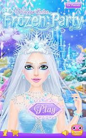 frozen party princess salon frozen party android apps on play