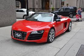 audi r8 gold 2011 audi r8 5 2 quattro spyder stock b593a for sale near