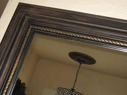 lynda bergman decorative artisan hand painted mirror molding and