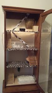 How To Make A Gun Cabinet by Made A Cage For My Daughters Rat Out Of A Gun Cabinet Rats