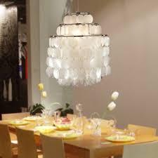 Gold Capiz Chandelier Lighting Amazing Capiz Chandelier For Your Home Lighting Design