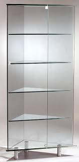glass corner curio cabinet all glass corner curio cabinet dd088 home inspiration