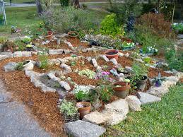 Rock Gardens Ideas Rock Garden Ideas Using Nature Exterior Accent Amaza Design