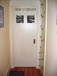 Tardis Interior Door Doctor Who Box Interior Door Decal Interior Door Doors