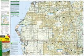 Michigan Orv Trail Maps by Manistee North Manistee National Forest National Geographic