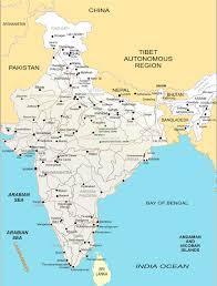 Map India India Map India U2022 Mappery
