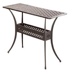 outdoor console table home cast aluminum outdoor sideboard console table