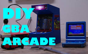 Building A Mame Cabinet How To Build A Gba Arcade Cabinet Nintendo Gameboy Diy De Youtube