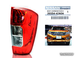 nissan genuine accessories uk r right back tail lamp light genuine for nissan navara np300 d23