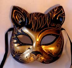 cat masquerade mask cat safari masquerade mask italian made insignia masks