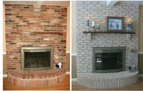 painting brick fireplace u2013 massagroup co