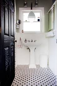 white bathroom tile ideas 40 black and white bathroom floor tile ideas and pictures