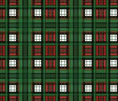 plaid christmas flannel plaid christmas ride fabric peacoquettedesigns