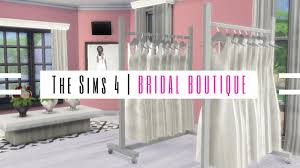 the bridal shop the sims 4 bridal boutique showcase
