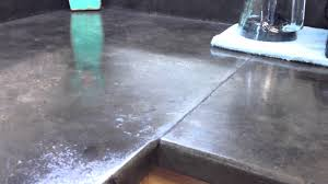 i made my own concrete countertops youtube