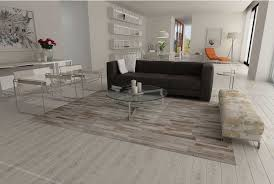 Cowhide Rug In Living Room Gray Beige And White Stripes Design Patchwork Cowhide Rug Shine