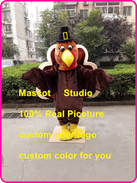 thanksgiving turkey mascot costume plush turkey tucustom fancy