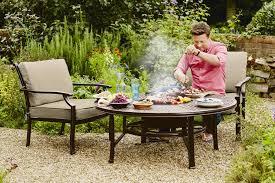 oliver 4 seat firepit set u0026 accessories hartman garden