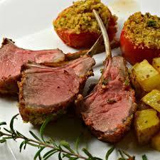rosemary and mustard rack of lamb recipe u2013 all recipes australia nz