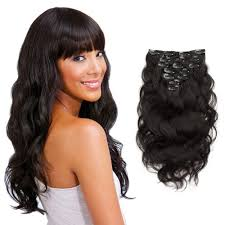 Pre Curled Hair Extensions by Clip In Hair Extensions 100 Human Remy Clip In Hair Extensions