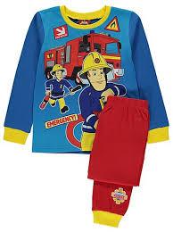 fireman sam pyjamas kids george asda