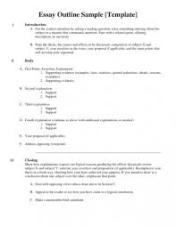 examples of resumes outline for writing an expository paper