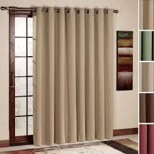 Properly Hanging Curtains Ultimate Blackout Grommet Patio Panel 112 X 84 For The Home