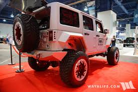 jeep rhino liner 2017 sema rhino lining jeep jk wrangler unlimited